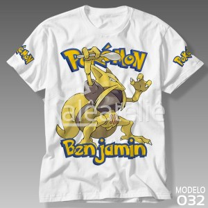 Camiseta Pokemon 032