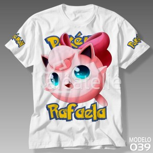 Camiseta Pokemon 039