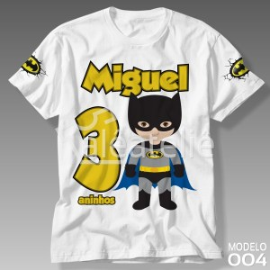Camiseta Batman Infantil