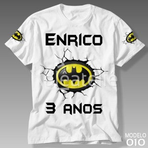 Camiseta Batman 010