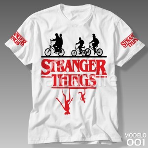 Camiseta Stranger Things 001