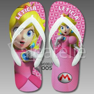 Chinelo Princesa Peach