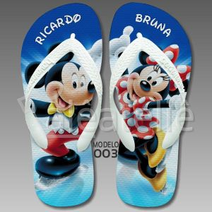 Chinelo Mickey Mouse 003