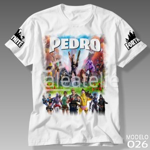 Camiseta Fortnite Temporada 6