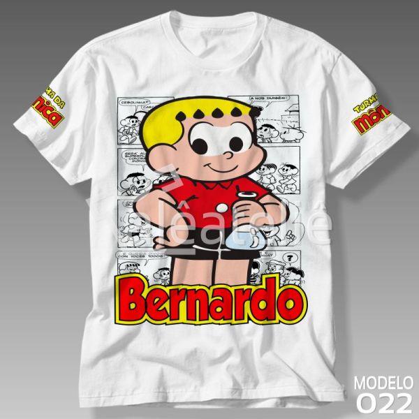 Camiseta Franjinha Turma da Mônica