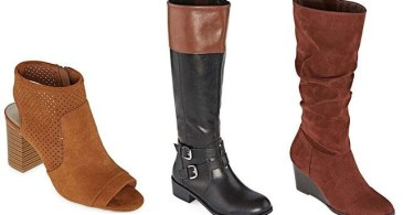Alea's Deals Women's Boots & Booties Up to 85% Off at JCPenney (Starting at JUST $10!)