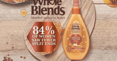 Alea's Deals FREE Sample of Garnier Whole Blends Miracle Nectar Treatment