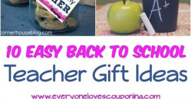 Alea's Deals 10 SIMPLE & Easy Back to School Teacher Gift Ideas!