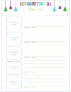 Alea's Deals 4 FREE Christmas Gift & Purchase Tracking Printables