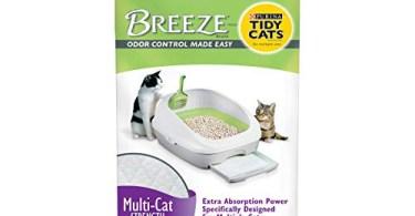 Alea's Deals 54% Off Purina Tidy Cats Cat Litter Accessories, BREEZE Pads Refill Pack Multi Cat Litter - 8 ct. Bag! Was $20.85 ($2.61 / Count)!