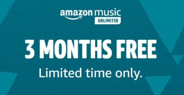 Alea's Deals Amazon: 3-Month Subscription to Amazon Music Unlimited for FREE