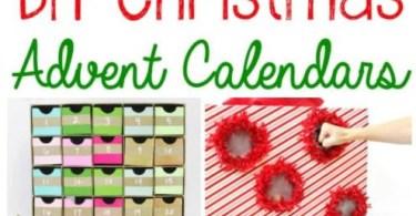 Alea's Deals 10 DIY Christmas Advent Calendars!