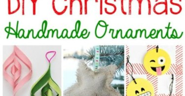 Alea's Deals 10 DIY Christmas Handmade Ornaments!
