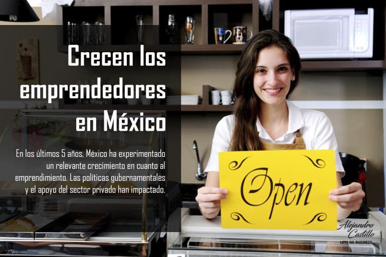 crecen emprendedores en mexico