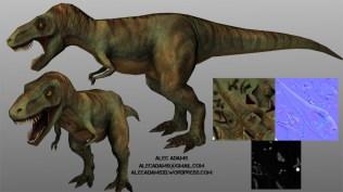 Low Poly T-Rex
