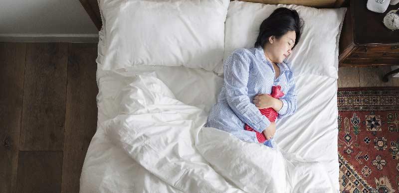 probleme datorate menstruatiei