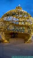 Libourne-Boule illuminée