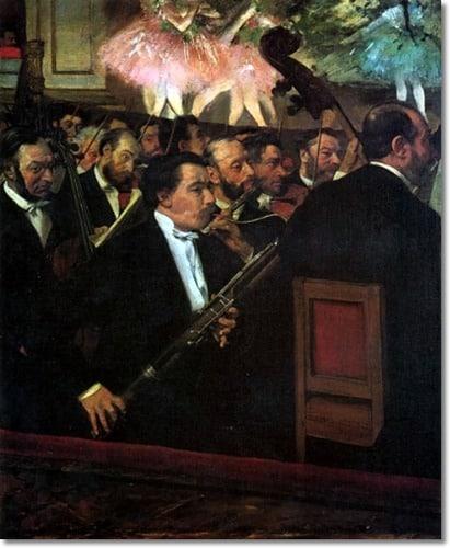 Degas-L'orchestre de l'opéra