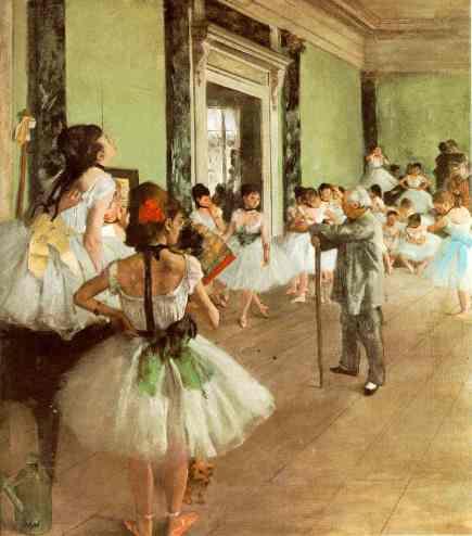 Degas-La classe de danse