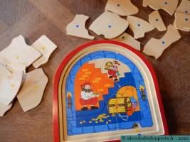 Puzzle pirates 6 pièces
