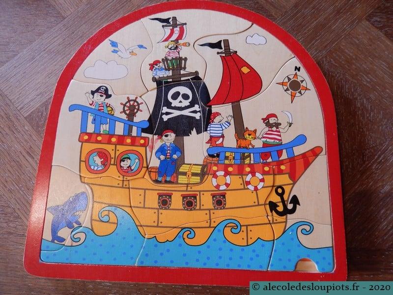 Puzzle pirates 12 pièces