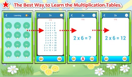 Multiplication Tables Challenge - Mode Learning