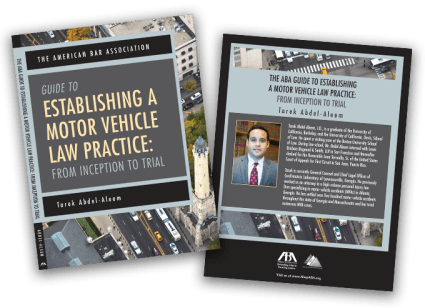 Establishing a Motor Vehicle Law Practice - Free Publication