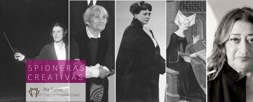 cinco mujeres que cambiaron el curso de la historia y de la creatividad