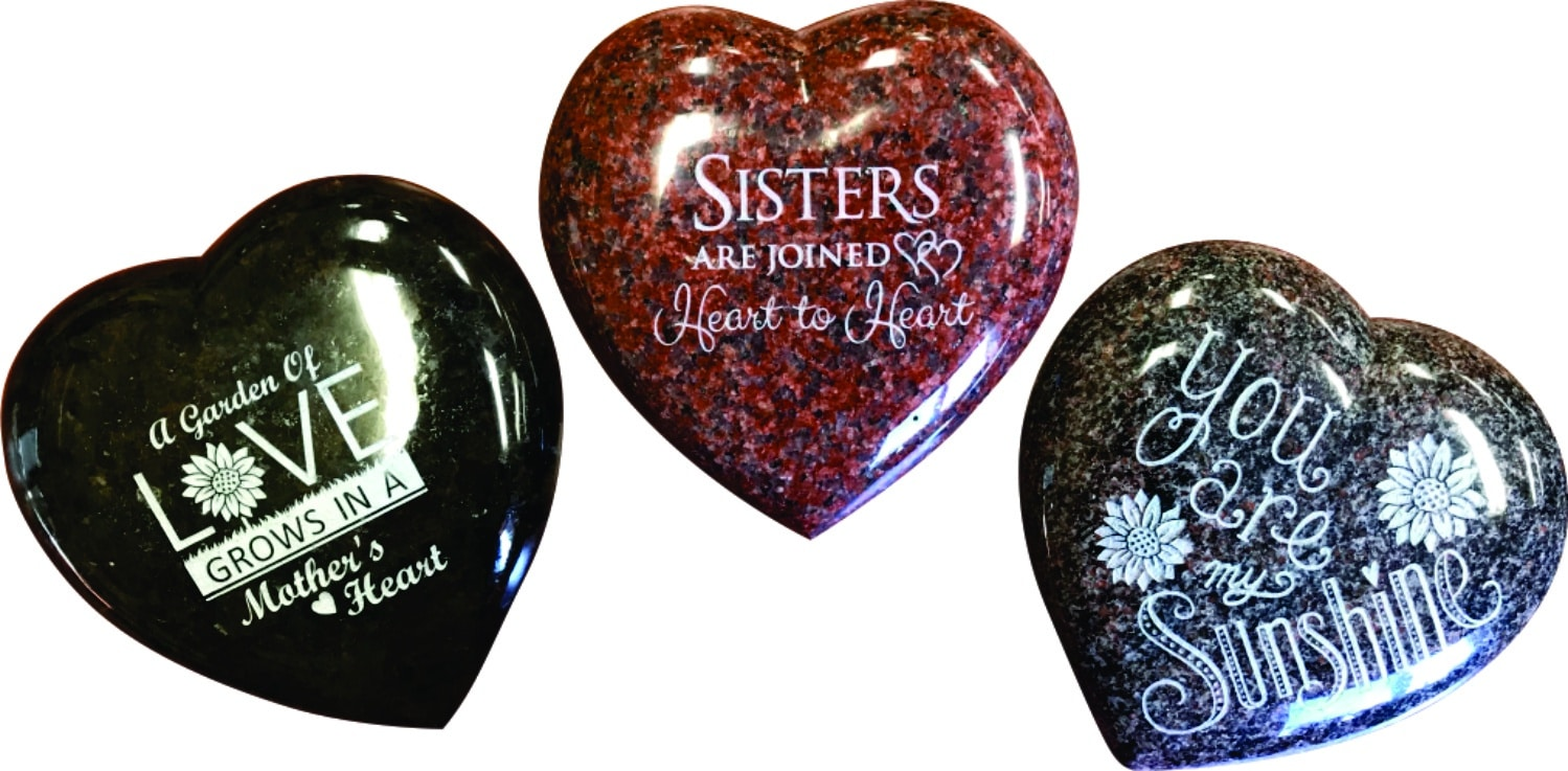 Gifts & Home Granite Hearts