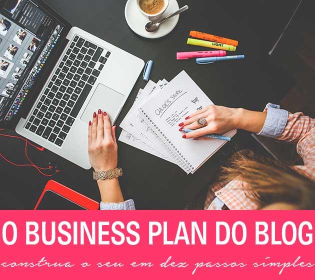 business plan do blog