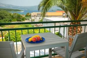 Sea view balcony in Lumbarda