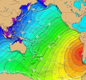 el maremoto que hundió el Canelo