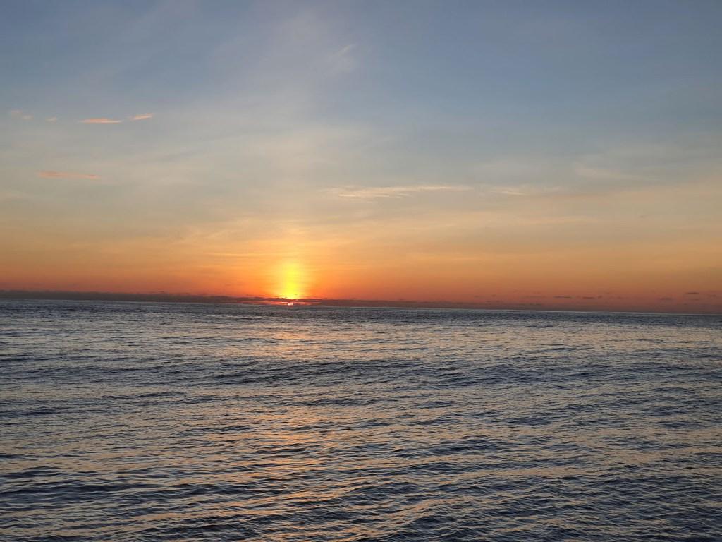 Navegando por el pacífico en el magnífico el Doblón