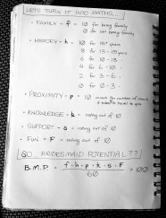 photo of workbook showing ways to value bridesmaid potential