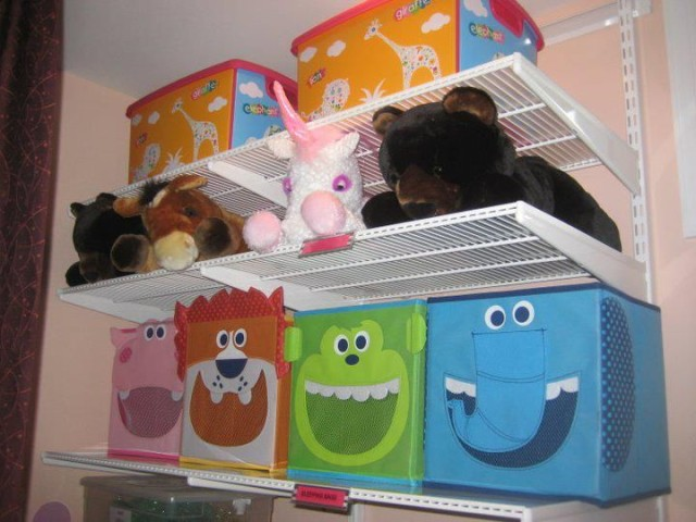 Cute Animal Storage Bins For The Playroom