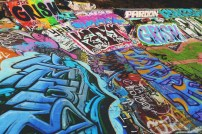 Graffiti Spot, Santa Cruz, California