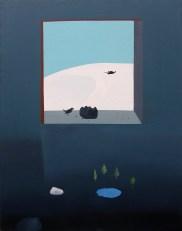 Acrílico/óleo sobre lienzo. 114 x 80 cm. 2016.