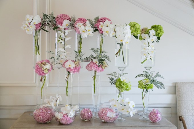 orchid-hydrangea-bouquets