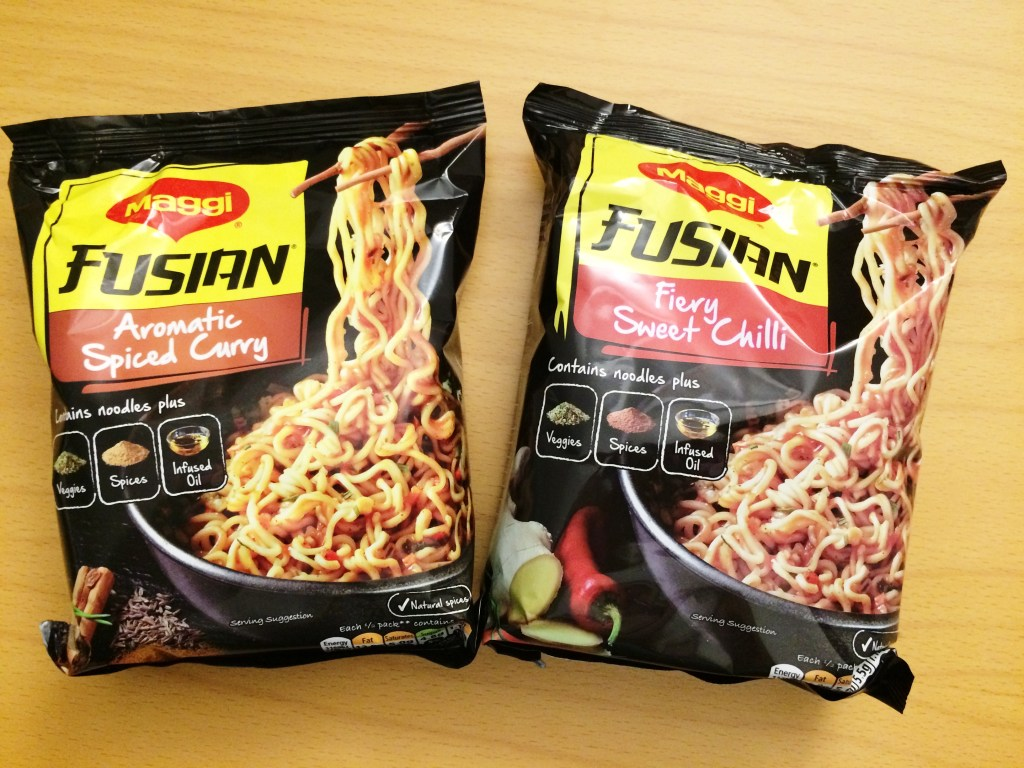 Fusian by Maggi - oh gosh...love these noodles with that spicy involved! Not suitable for kids... add a glass of wine!