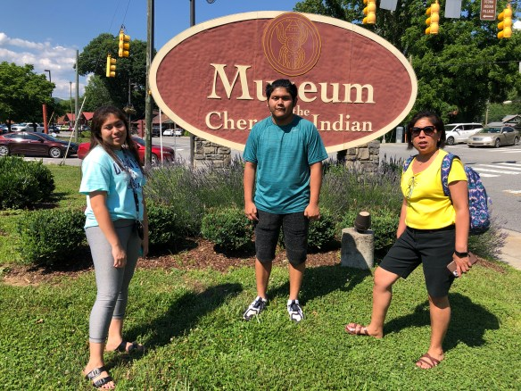 Museum of the Cherokee Indian, at Cherokee, NC.