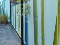 Mural dieciocho bambúes