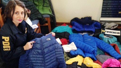 chaquetas north face imitaciones por mayor