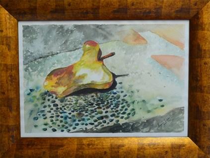Título: El mendigo Técnica: Acuarela Medidas: 50x35cm Artista: Alejandro Londoño Año: 2016