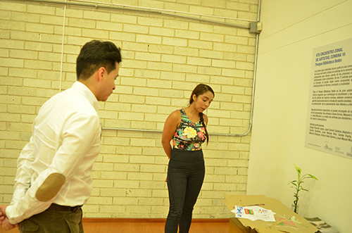 """Taller y conversatorio """"Esencia – La mismidad en el arte"""" con Alejandro Londoño en el Parque Biblioteca de Belén"""