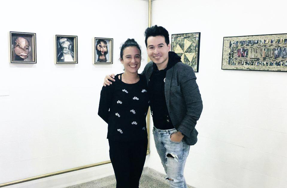 Sandra Vicek y Alejandro Londoño en Colombian Art