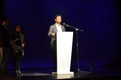 Juan Carlo Sánchez, director del Teatro Pablo Tobón Uribe