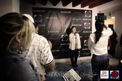 Luz M. Duque dando apertura a Nascor