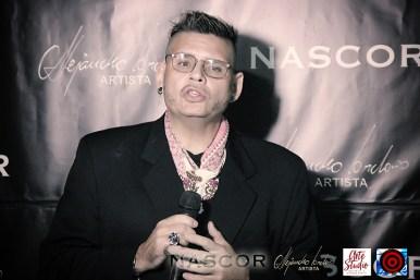 Norman Botero en el acto de inauguración de Nascor