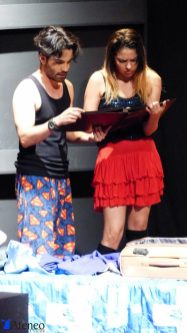Juan David Hernández y Melissa Rodríguez Foto cortesía corporación Ateneo Porfirio Barba Jacob