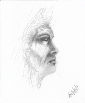 Título: Esencia 7 Serie: Esencia Técnica: Grafito Artista: Alejandro Londoño